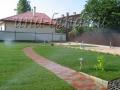 Ландшафтный дизайн маленького дворика в г. Дубне
