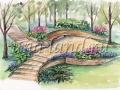 Ландшафтный дизайн - Эскизы